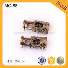 EC88 2016 Antique brass customized rope end stopper