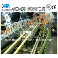 Single Screw-PVC Skirting Board Small Profile Extruder Machine