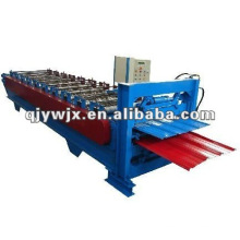 QJ double layer roof sheet rolling machine for PPGI sheets