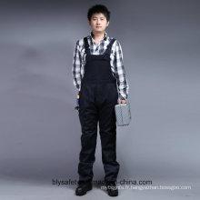 65 % polyester 35 % coton Zip manches longues avant Bip de sécurité et vêtements de travail Brace (BLY4001)