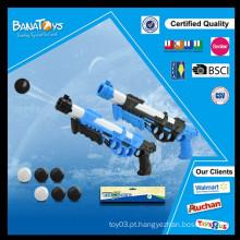 Novos produtos arma de água espaço com arma de bola soft eva