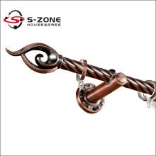Tige de rideau en fer durable à usage classique pour gros