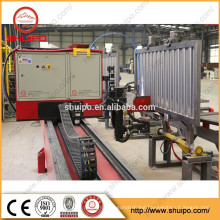 2015 High quality corrugated steel sheet automatic welding machine wagon side wall welding machine