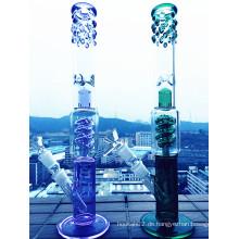 Neue Designs Schwarze Ente Glas Rauchen Rohre, Tabak Rauchen Pfeifen, Glas Wasser Rohre für Großhandel Hochwertige
