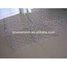 Malla hexagonal galvanizada Gabion Box malla