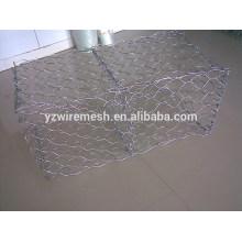 Malha Hexagonal Mesh Galvanized Gabion Box