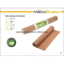 Self-Adhesive Cork Board für Shool und Office Supply