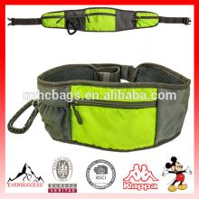 Bolso de entrenamiento para perros con cinturón de mascota y múltiples bolsillos con cremallera