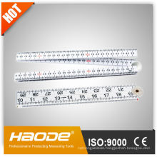 ABS plastic folding ruler with keychain