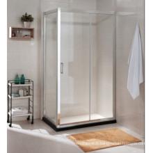 Prix de gros AS / NZS2208 Salle de douche simple en verre trempé australien en verre trempé (C17)