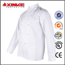 uniforme de chef de coton pour les restaurants