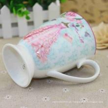 China fornecedor qualidade Assurance caneca de chá com colher de cerâmica