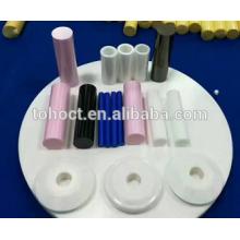 Tubos de pinos cerâmicos de venda quentes industriais das hastes do tubo da zircônia