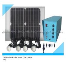 Энергосберегающие системы солнечного освещения солнечной комплект