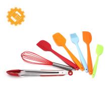 Espátula de silicone conjunto de equipamentos de pastelaria e ferramentas de cozimento para o natal