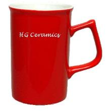 Flare Form-Becher, roter Becher, Kaffeetasse