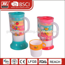 plastic water kettle 1.2Lw/4 cups (0.35L)