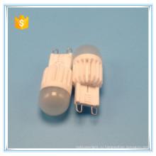 G9 светодиодные лампочки оптом горячая 360 градусов светодиодные лампы