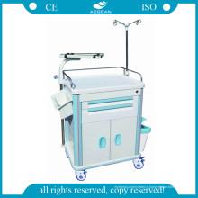 Chariot de distribution de médicaments et de chariots de broselow (AG-ET014B1)