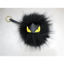 2015 Black cute plush toy keychain