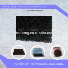 Углеродная Ткань Активировать Фильтр Пены Губка Углерода