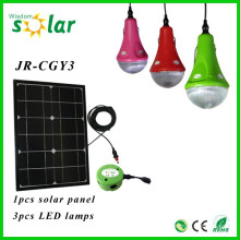 2015 neue CE-home solar Beleuchtungs-Kit mit LED-Leuchten & USB-Ladegerät solar-Beleuchtung-Kit JR-SL988