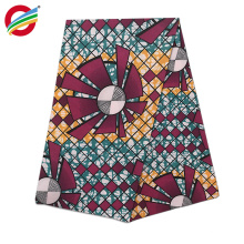 African real wax printed fabric with beautiful designs