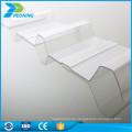 Grade A Multi-Wände gewellten PC-Blatt Kunststoff-Panel im Freien