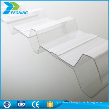 Unique clear corrugated polycarbonate greenhouse panels sheet price