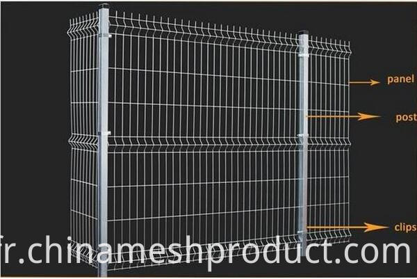 3D WIRE MESH FENCE