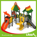 Triple Couleurs Matched Hot Sles Kids Small Outdoor Playground pour Daycare Center