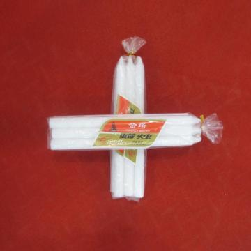 6st Packing Polybag White Bougies Candle