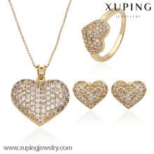 63524-Xuping Hot Weeding joyería de la forma del corazón joyería de Weeding en el último diseño