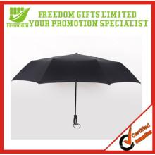 Giveaway Gute Qualität Schließen belüfteten Regenschirm