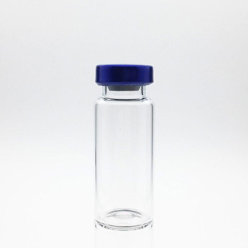 8ml Sterile Serum Vials Blue
