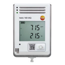 Testo 160 IAQ WiFi Data logger and monitoring CO,CO?,light and sound Temperature Humidity Pressure HVACR Industry