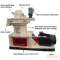 Linha de produção de pelotas de biomassa com CE para venda