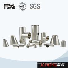 Raccords de tuyaux sanitaires soudés à bout en bout en acier inoxydable (JN-FT3007)