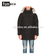 Новый пуховик непромокаемая куртка мужчины длинное пальто Новый пуховик непромокаемая мужская куртка длинная пальто