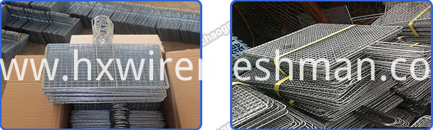 packing of barbecue mesh