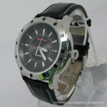 Simple and Elegant Stainless Steel Automaic Watch (HLSL-1010)