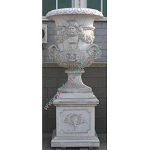 Marble Flower Vase for Garden Stone Furniture (QFP189)