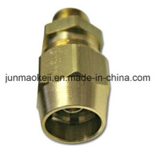Conector coaxial de fundição em cobre