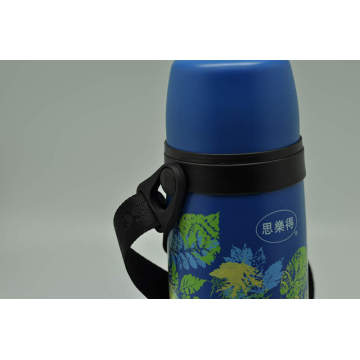 Hohe Qualität 304 Edelstahl Doppelwand Vakuumflasche Svf-1000e Vakuum