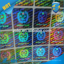 Custom novelty private label supply gps sticker with hologram effect