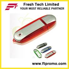 2016 La mayoría de la impulsión personalizada popular del flash del USB con la insignia (D105)