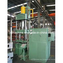 4-Cloumn Máquina de prensa hidráulica de doble acción