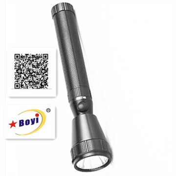 Wiederaufladbare Super Bright CREE 3W LED Metall Taschenlampe