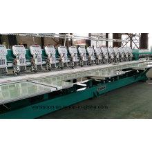 EDV-flache Stickmaschine