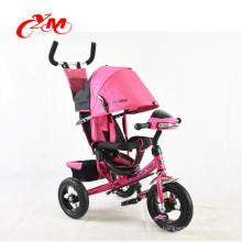 Trike estándar europeo de alta calidad con música y luz / Material de metal Triciclo pintura YS para niños